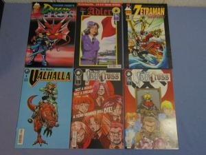 Six AP Antarctic Press English Manga Comic Books Der Adler Ben Dunn Valhalla + +
