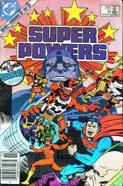 Super Powers (1984 series) #5, NM- (Stock photo)