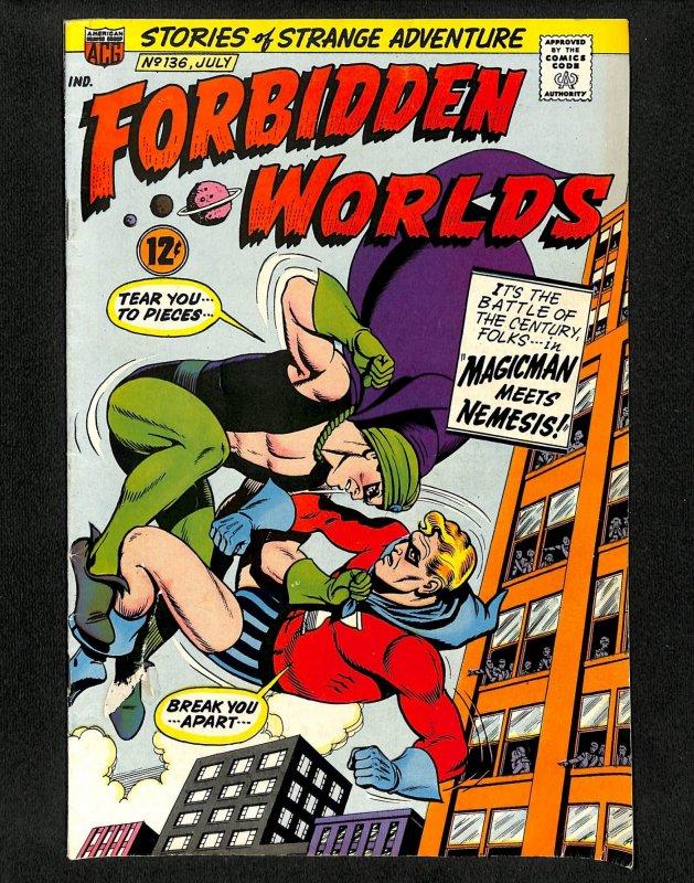 Forbidden Worlds #136 (1966)