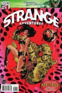 STRANGE ADVENTURES #1, NM, Paul Pope, Azzarello, Risso, Vertigo Comics, 2011