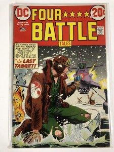 FOUR STAR BATTLE TALES (1973) 2 G (back cover damage) COMICS BOOK