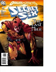 Lot Of 2 DC Comic Book Secret Six #6 and Superman Man of Steel #22  KS11