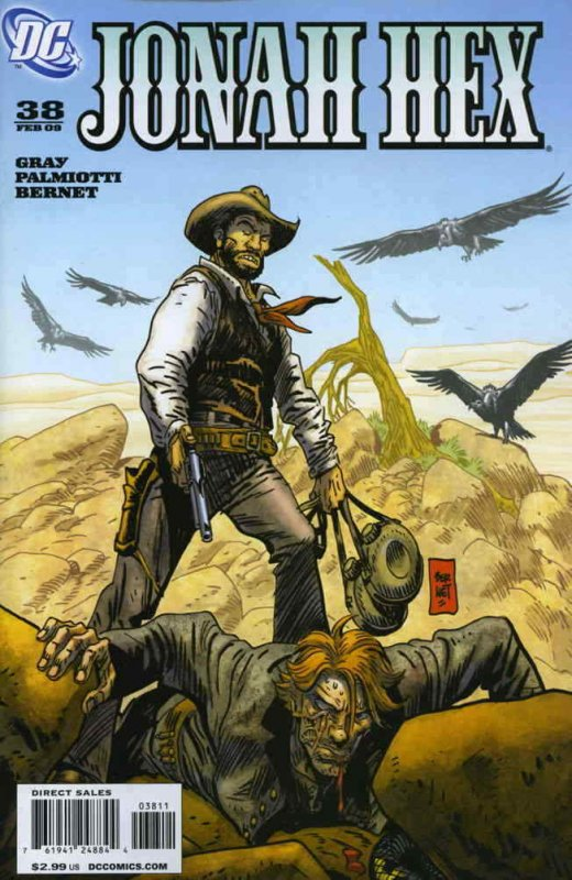 Jonah Hex (2nd Series) #38 FN; DC | save on shipping - details inside