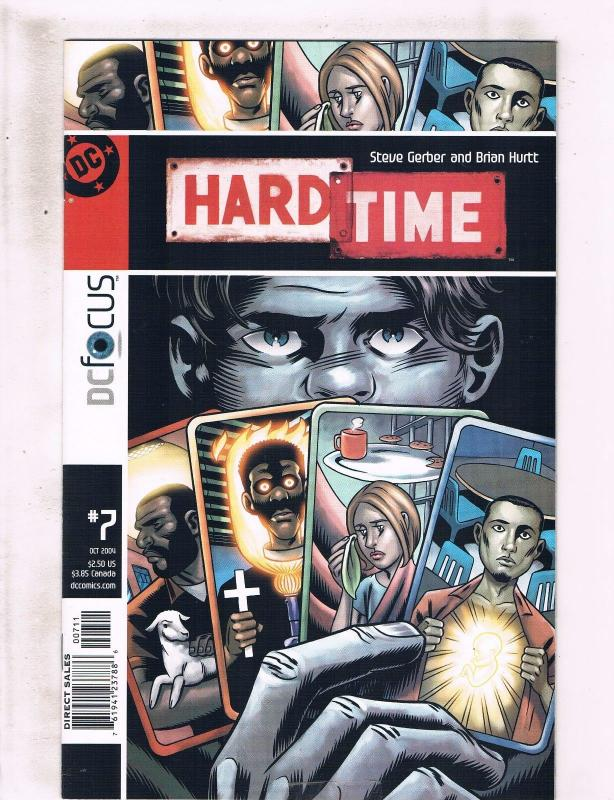 Lot of 6 Hard Time DC Comic Books #7 8 9 10 11 12 KS3