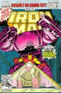 Iron Man (1st Series) Annual #13 VF/NM; Marvel | save on shipping - details insi