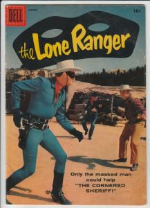 Lone Ranger, The #117 (Mar-58) FN Mid-Grade The Lone Ranger, Tonto, Silver