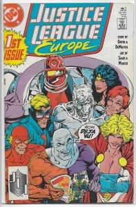 Justice League Europe   # 1 GD