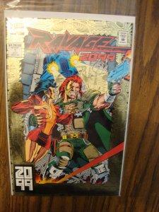 Marvel Comics Ravage 2099 #1 Foil Cover Stan Lee Story Paul Ryan Art