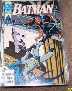 Batman #446  1990, DC NKV DEMON RUSSIA GOTHAM JIM APARO