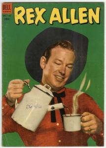 REX ALLEN ( 1951-1959 DELL) 10 VG-F PHOTOCOVER COMICS BOOK