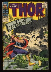 Thor #132 GD+ 2.5 Marvel Comics