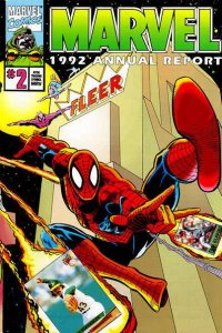 Marvel 1992 Annual Report #2, NM (Stock photo)