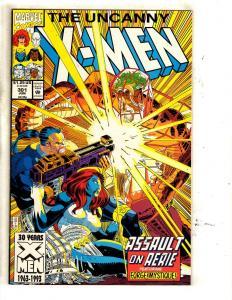 10 Uncanny X-Men Marvel Comic Books #301 302 303 304 305 306 307 308 309 310 MF2