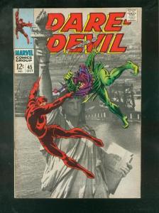 DAREDEVIL #45 1968-STATUE OF LIBERTY COVER VF