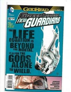 GREEN LANTERN NEW GUARDIANS (2011 DC) #35  nw119