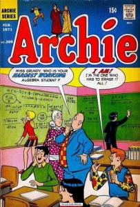 Archie Comics #206, Fine+ (Stock photo)