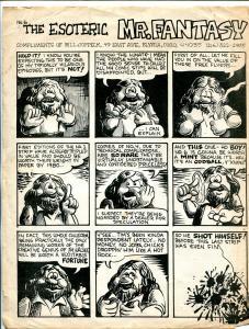 Esoteric Mr. Fantasy #6 1970's-flyer for Mr Fantasy Comic Book Shop Elyria OH-G