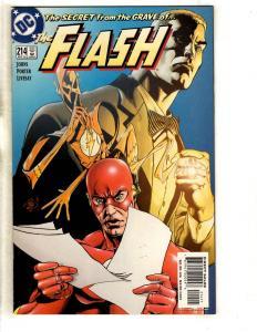 Lot Of 5 Flash DC Comic Books # 214 215 216 217 218 Batman Superman Arrow MF12