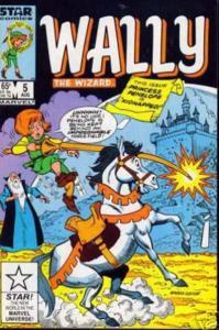 Wally the Wizard #5, VF (Stock photo)