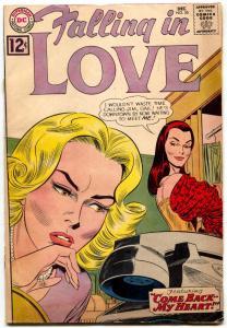Falling in Love #55 1962- DC silver age romance comic G