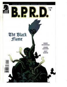 Lot Of 7 BPRD Dark Horse Comics Black Flame # 1 2 3 4 5 6 + Univ. Machine 1 CR28