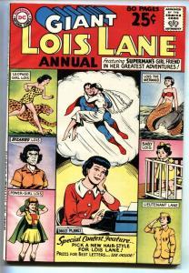 Lois Lane Annual #1 1962 Superman's Girlfriend- DC FN/VF