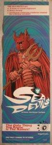 TANGENT SEA DEVILS Promo poster, 11x34, 1997, Unused, more Promos in store