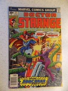 DOCTOR STRANGE # 21 MARVEL BRONZE MYSTIC ADVENTURE ACTION FN+