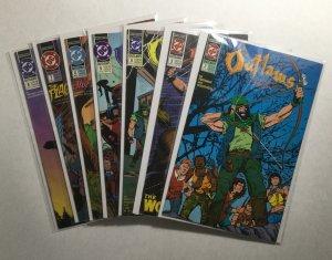 Outlaws 2-8 2 3 4 5 6 7 8 Lot Run Set Near Mint Nm Dc Comics