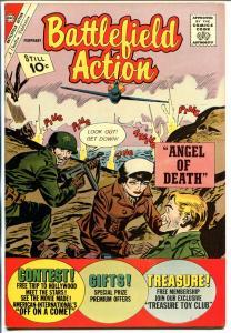 Battlefield Action #40 1962-Charlton-Roy Lichtenstein-Angel of Death-NM