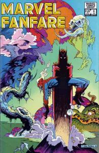 Marvel Fanfare #6 VF/NM; Marvel | save on shipping - details inside