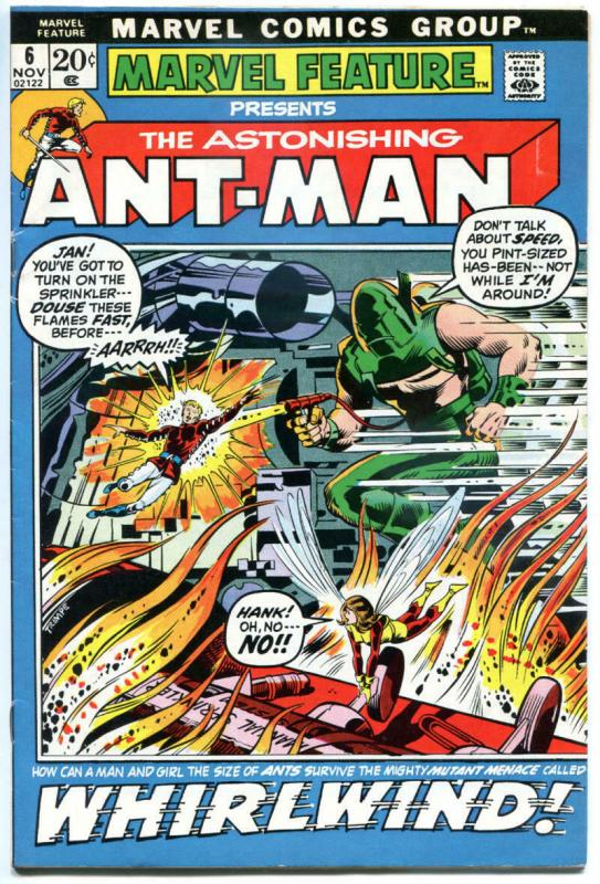 MARVEL FEATURE #6, FN-, Ant-Man, with Wasp, Herb Trimpe, 1971, more in store