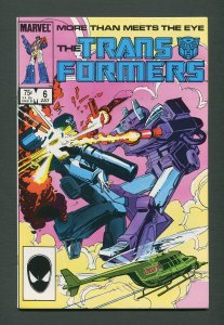 Transformers #6  /  9.0 - 9.2 NM-  /  July 1985