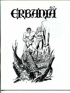 Erbania #60 1989 -Edgar Rice Burroughs-Tarzan-Gray Morrow-info-pix- VG