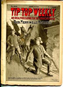 Tip Top Weekly 9/9/1911-Dick Merriwell-adventure pulp fiction-FR/G