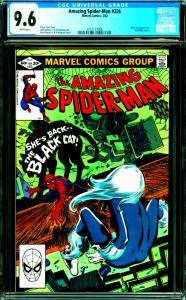 Amazing Spider-Man #226 CGC Graded 9.6 Black Cat Appearance, Foolkiller Cameo