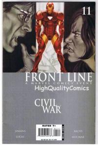 CIVIL WAR : FRONT LINE #11, NM-, Jenkins, Lieber, 2006, more Marvel in store