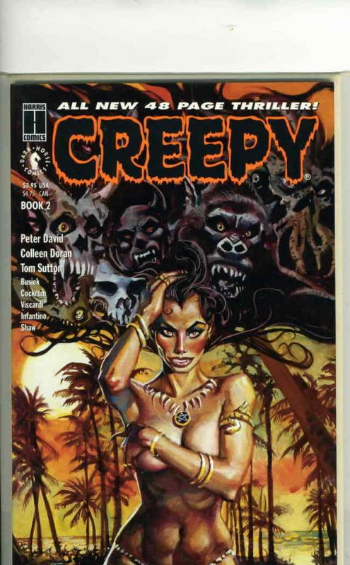 Creepy: The Limited Series #2 VF; Harris | save on shipping - details inside