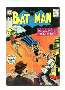 BATMAN 147-1962-BAT BABY COVER VG