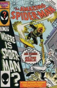 Amazing Spider-Man, The #279 FN; Marvel | save on shipping - details inside