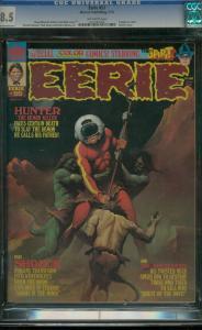 EERIE #55 1974-CGC GRADED 8.5-SPIRIT STORY BY EISNER 8.5 0501087008
