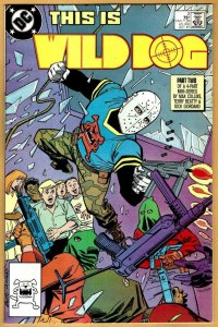 WILD DOG  #2, NM, Max Collins, DC 1987 more DC in store