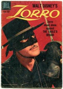Four Color Comics #960 1958- Zorro-Guy Williams cover- Dell Comics G-