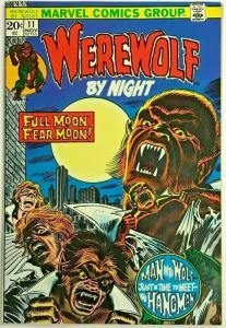 WEREWOLF BY NIGHT#11 VF 1973 MARVEL BRONZE AGE COMICS