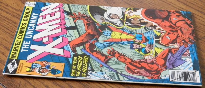 X-Men 129 VF Marvel HOT! MOVIE!! 1st Appearance of White Queen & Kitty Pryde