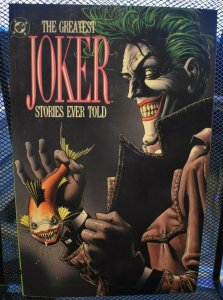 The Greatest Joker Stories Ever Told DC TPB RARE 1988 1st Print Batman Robin