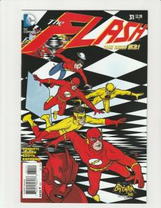 Flash #31 (DC Comics) 1:25 Batman '66 Allred Variant HTF