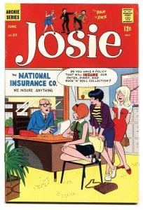 Josie #27 Archie-teen humor-Dan DeCarlo-1967 VF