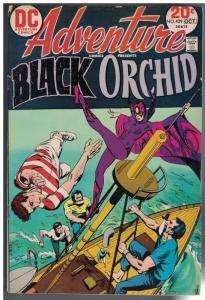 ADVENTURE 429 VG  Oct. 1973 Black Orchid