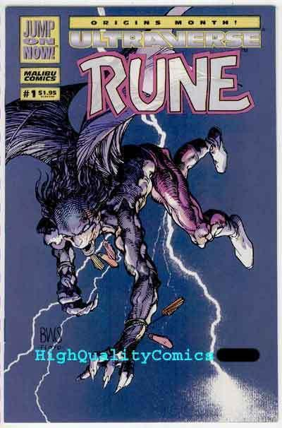 RUNE #1, NM+, Barry Smith, Vampire, 1994, Chris Ulm, more B Smith in store